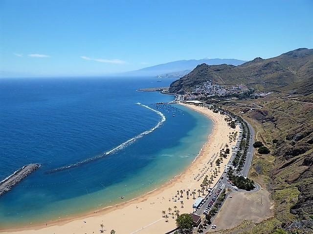 Le migliori spiagge delle isole Canarie - Las Teresitas